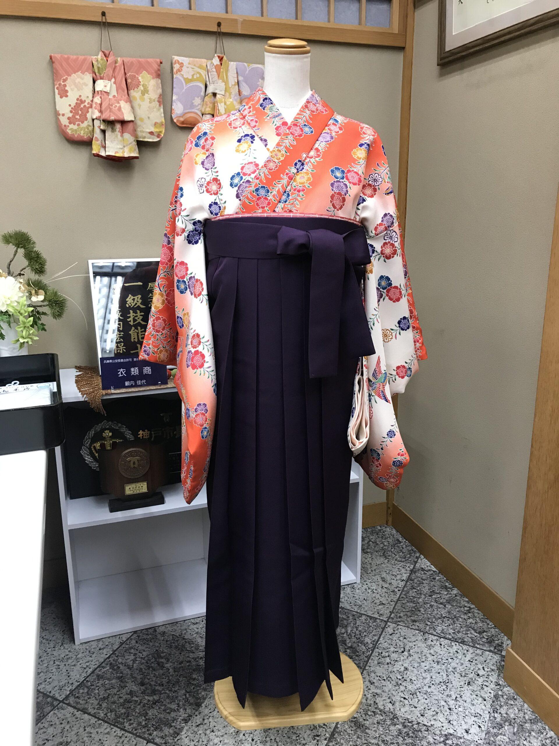 卒業式の袴コーデについて