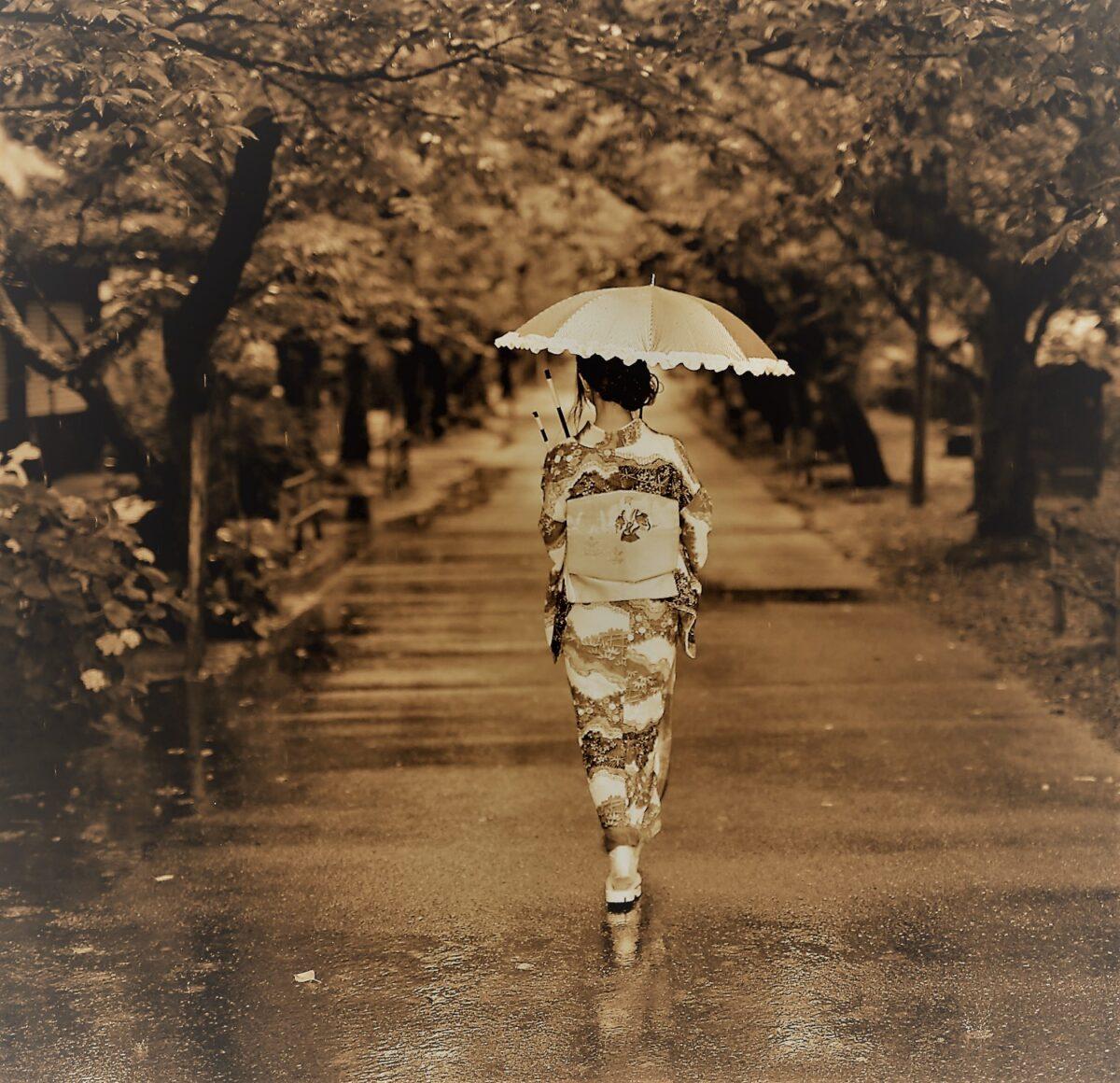 梅雨と着物について・・・・
